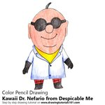 How to Draw Kawaii Dr. Nefario from Despicable Me