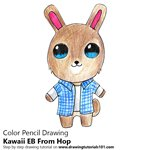 How to Draw Kawaii EB From Hop