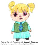 How to Draw Kawaii Eleanor from Alvin and the Chipmunks