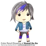 How to Draw Kawaii Go Go from Golan the Insatiable