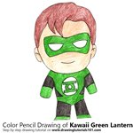 How to Draw Kawaii Green Lantern