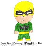 How to Draw Kawaii Iron Fist