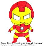 How to Draw Kawaii Ironman