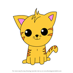 How to Draw Kawaii Jaune Tom From Gay Purr-ee