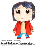 How to Draw Kawaii Mel Jones from Coraline