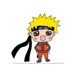 How to Draw Kawaii Naruto Uzumak