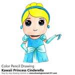 How to Draw Kawaii Princess Cinderella