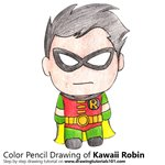 How to Draw Kawaii Robin