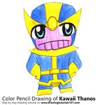 How to Draw Kawaii Thanos
