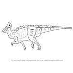 How to Draw a Hadrosaur