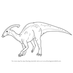 How to Draw a Hadrosaurid