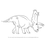 How to Draw a Pentaceratops