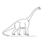How to Draw a Sauropod