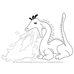 How to Draw a Fire Breathing Dragon for Kids
