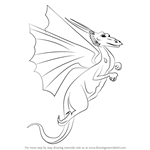 How to Draw a Flying Dragon