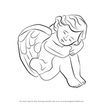 How to Draw a Baby Angel