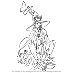 How to Draw Rincewind from Discworld