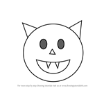How to Draw Halloween Emoji