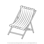 How to Draw Beach Chair