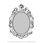 How to Draw Beautiful Mirror