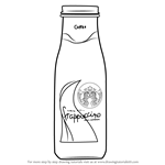 How to Draw Bottled Frappuccino
