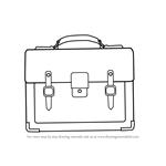 How to Draw a Business Handbag