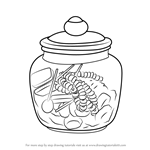 How to Draw a Candy Jar