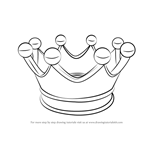How to Draw a Crown for Kids