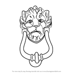 How to Draw a Doorknocker