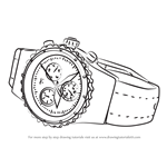 How to Draw a Luxurious Watch