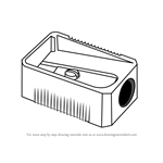 How to Draw Pencil Sharpener