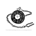 How to Draw a Pocket Watch