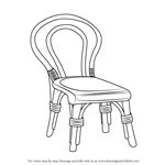 How to Draw a Decorative Chair
