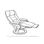 How to Draw a Recliner