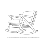 How to Draw Rocking Chair