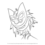 How to Draw Noodle from Gorillaz