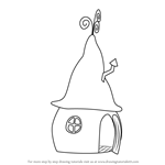 How to Draw Wizard Home