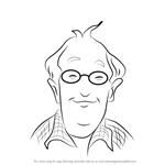 How to Draw Grampa Frank Miller from Junie B. Jones