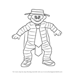 How to Draw Hamburglar