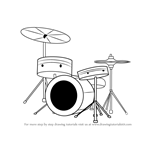How to Draw Drums