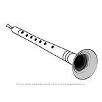 How to Draw a Shehnai