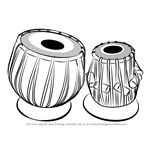 How to Draw a Tabla