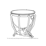 How to Draw Timpani
