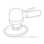 How to Draw Air Sander