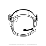 How to Draw an Astronaut's Helmet