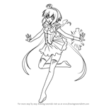 How to Draw Aoki Lapis from Vocaloid