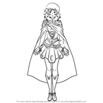 How to Draw AVANNA from Vocaloid