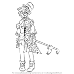 How to Draw Fukase from Vocaloid
