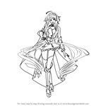 How to Draw MAIKA from Vocaloid