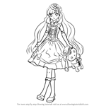 How to Draw MAYU from Vocaloid